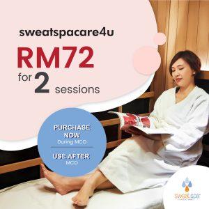 sweatspacare4u campaign
